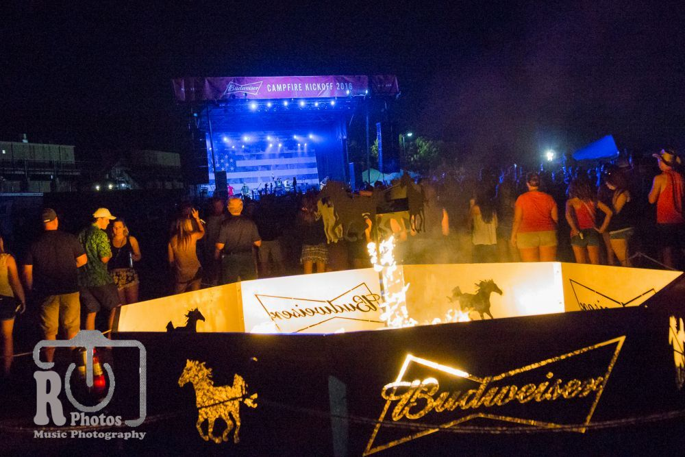 Budweiser Campfire Kickoff Party | Photo by John Reasoner