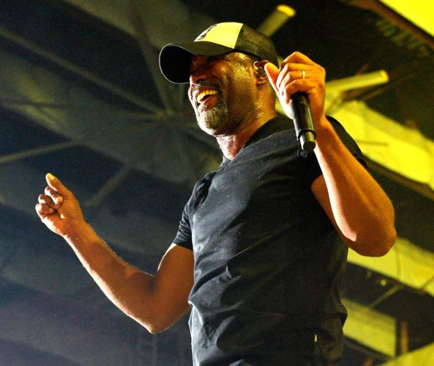 Darius Rucker at Gexa Energy Pavilion in Dallas, TX