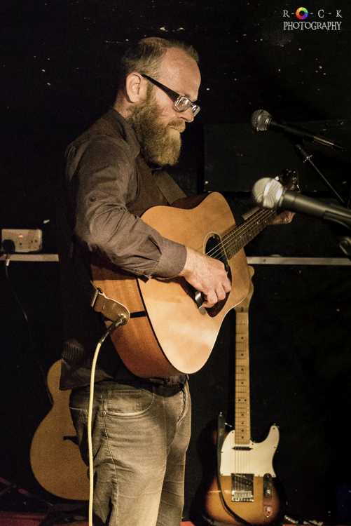Edd Donovan at St James Wine Vaults in Bath, UK | Photo by Becky O'Grady