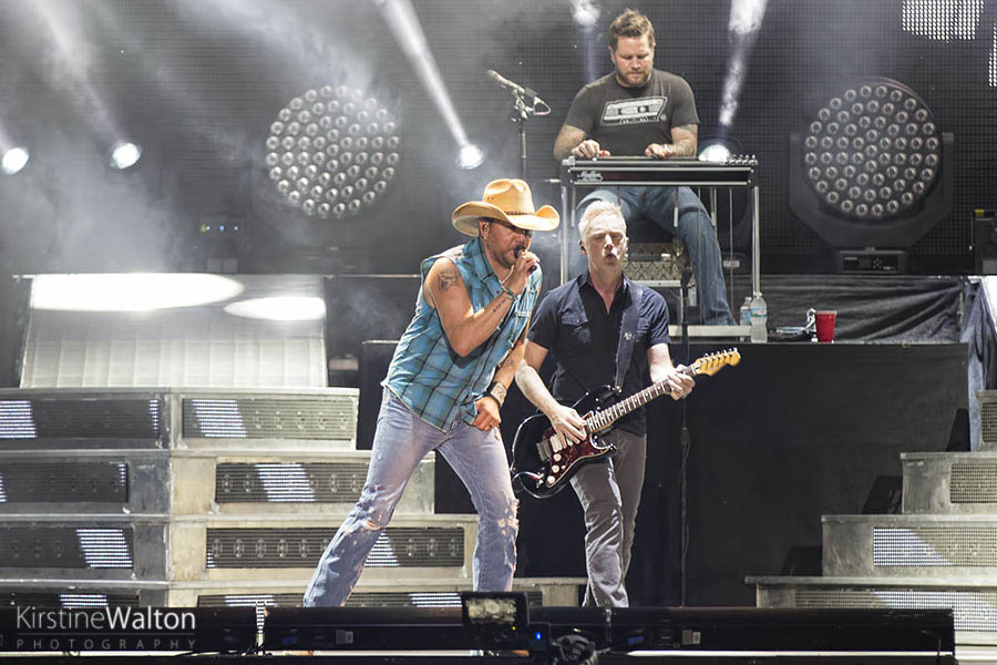 Jason Aldean @ Country LakeShake | Photo By Kirstine Walton