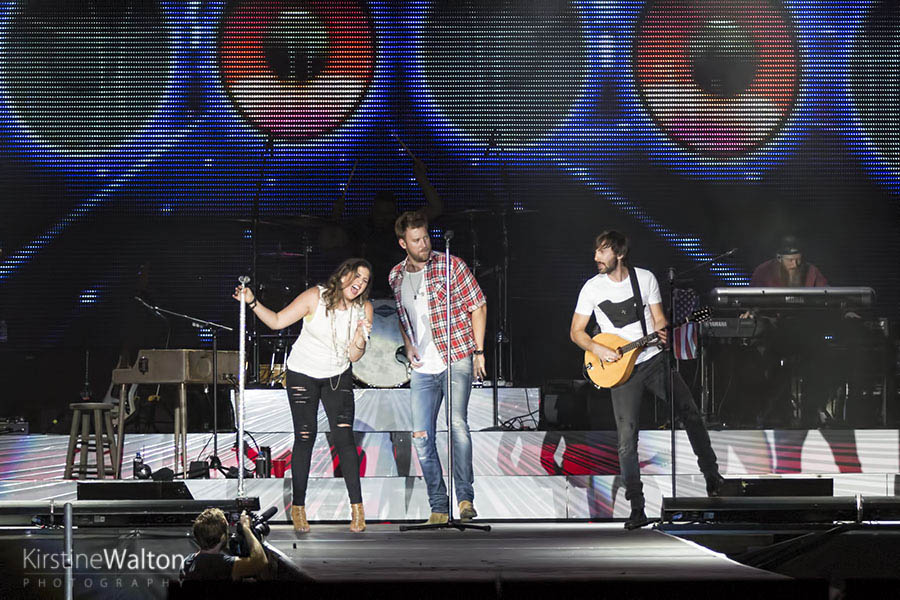 Lady Antebellum @ Country Lake Shake | Photo By Kirstine Walton