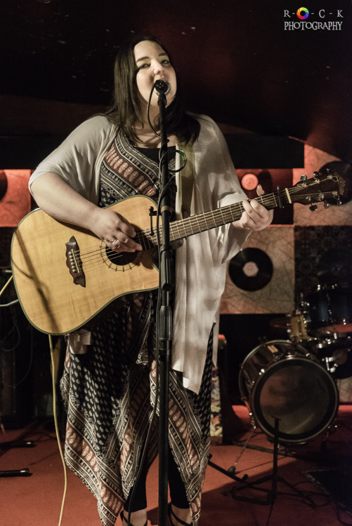 Lya Stewart at St James Wine Vaults in Bath, UK | Photo by Becky O'Grady