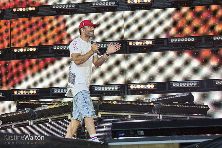 Sam Hunt @ Country LakeShake | Photo By Kirstine Walton