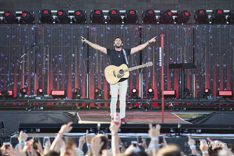 Thomas Rhett @ Country LakeShake | Photo By Kirstine Walton