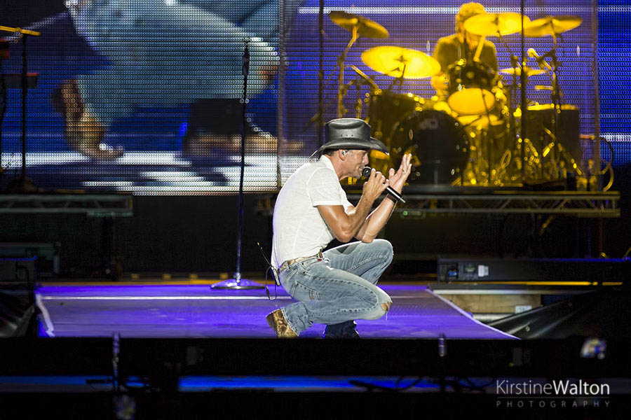 Tim McGraw @ Country LakeShake | Photo By Kirstine Walton
