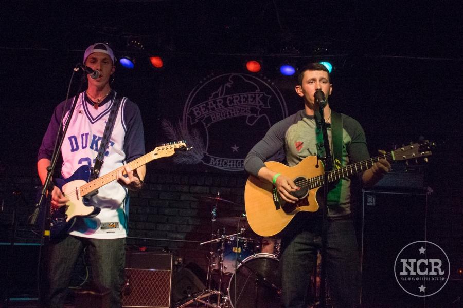 Bear Creek Brothers @ The Whiskey Barrel Saloon in Lansing, MI | Photo by John Reasoner