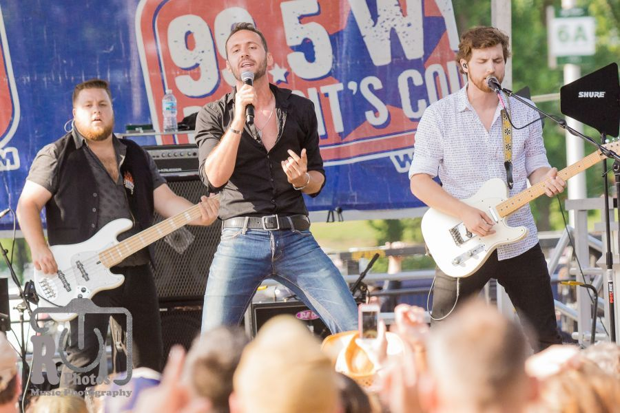 Drew Baldridge @ WYCD Hoedown | Photo by John Reasoner