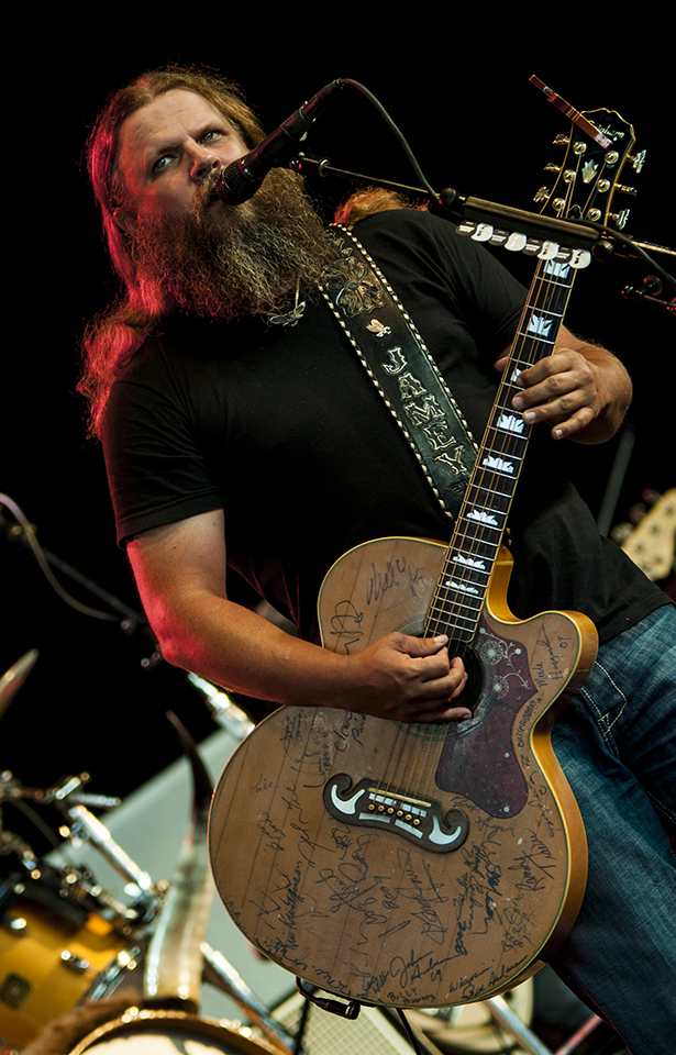 Jamey Johnson @ DTE Energy Music Theater | Photo by Josh Kahl