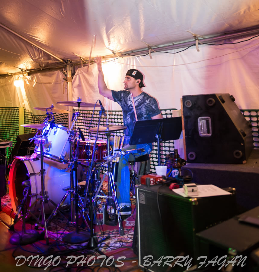 John Stone & The Trailer Park All Stars in Flint, MI | Photo by Barry Fagan