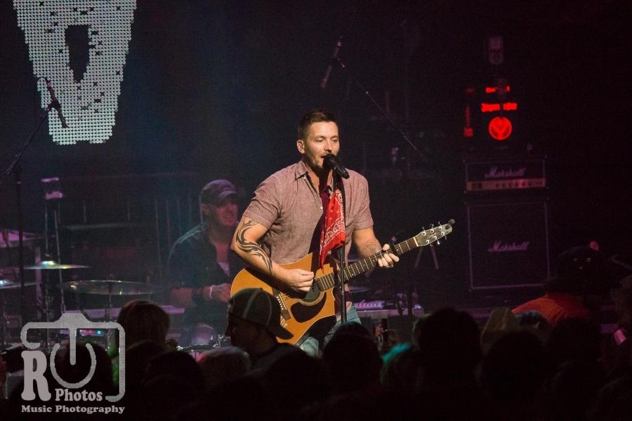 Matt Austin @ Fillmore in Detroit, MI   Photo by John Reasoner