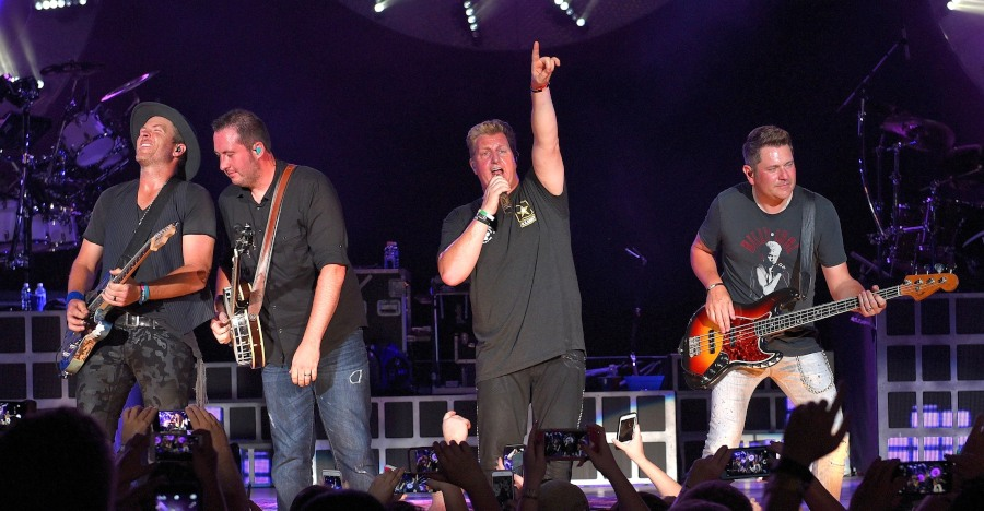 Rascal Flatts @ Gexa Energy Pavillion in Dallas, TX