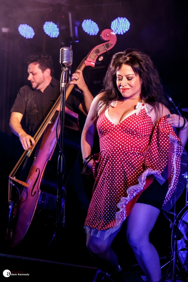 Rio And The Rockabilly Revival@Newcastle Rock and Blues Club in Newcastle, UK  | Photo by Adam Kennedy