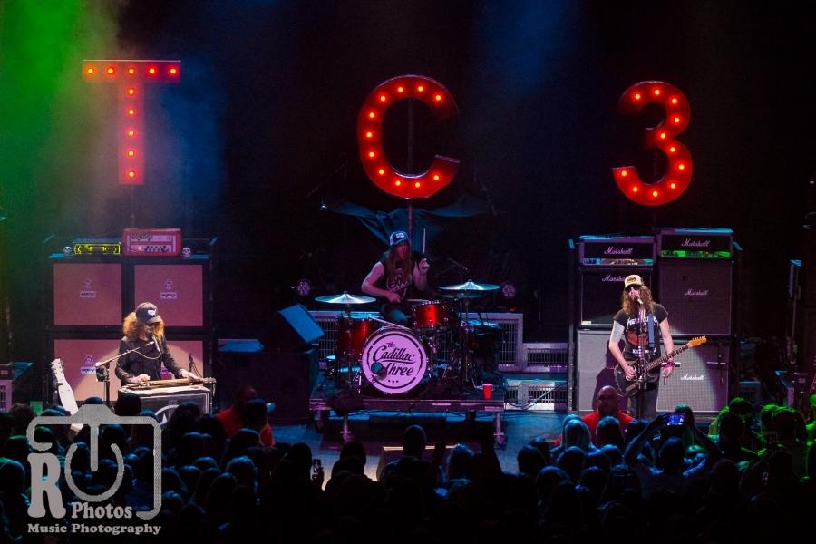 The Cadillac Three @ The Fillmore in Detroit, MI | Photo by John Reasoner