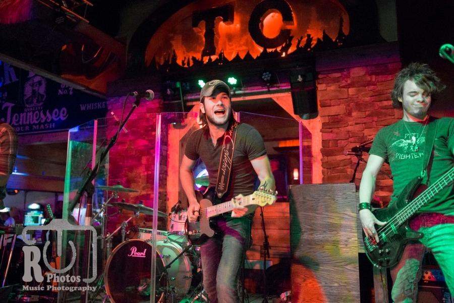 Ben Gallaher @ Tequila Cowboy in Lansing, MI | Photo by John Reasoner