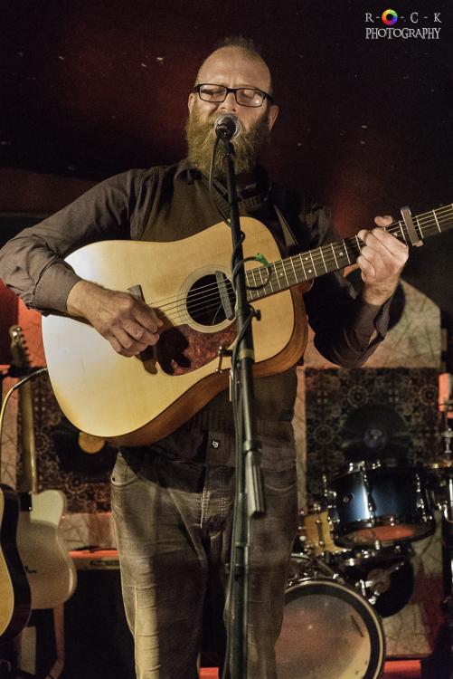 Edd Donovan at St James Wine Vaults in Bath, UK | Photo by Becky O'Grady