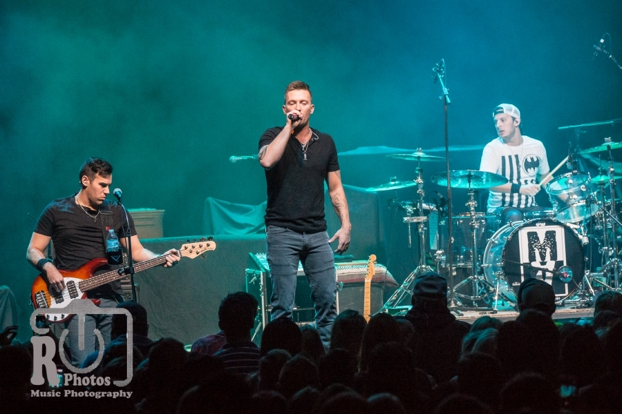Matt Austin @ The Fillmore in Detroit, MI | Photo by John Reasoner