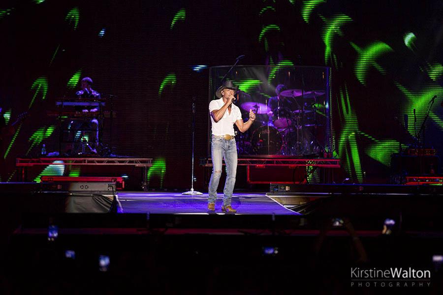 Tim McGraw @ Country LakeShake | Photo By Kirstine Walton