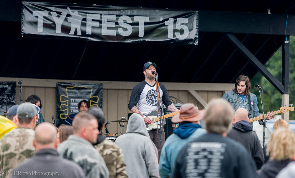 Doop & the Inside Outlaws @ Tyfest 15 in Hell, Michigan   Photo by Robert Somerville