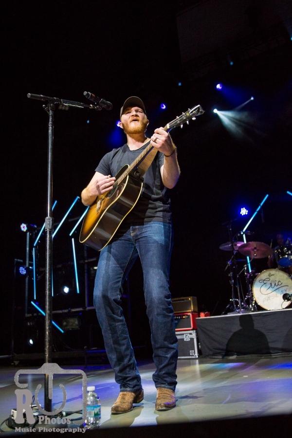 Eric Paslay @ Miller Auditorium in Kalamazoo, MI   Photo by John Reasoner