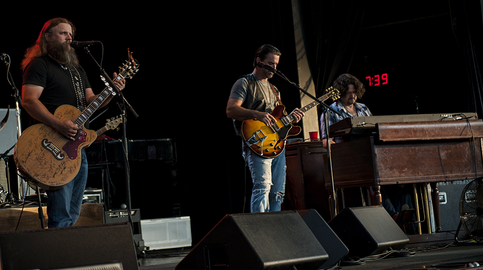 Jamey Johnson @ DTE Energy Music Theater   Photo by Josh Kahl