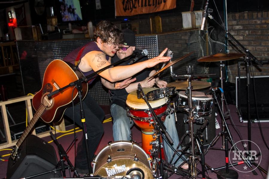 Joshua Scott Jones @ The Whiskey Barrel Saloon in Lansing, MI | Photo by John Reasoner