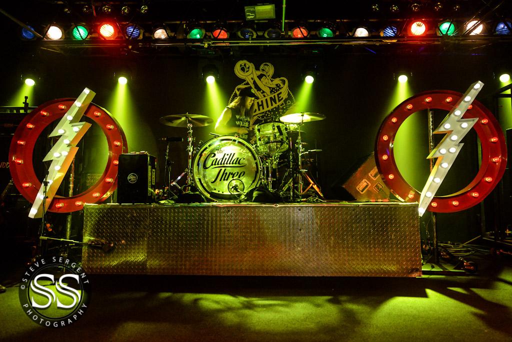 The Cadillac Three @ The Machine Shop in Flint, MI | Photo by Steve Sergent