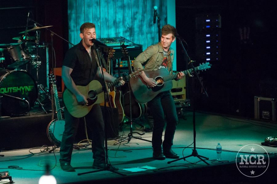 Tweed And Dixie @ Backroads Saloon in Marshall, MI.  Photo by John Reasoner